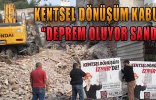 'Deprem Oluyor Sandık'
