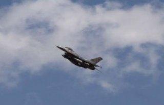 F-16'lar Suriye Uçağı İçin Havalandı