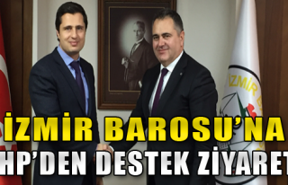 CHP'den Destek Ziyareti