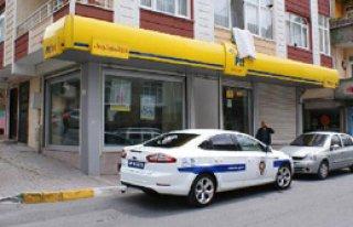 Bağcılar'da Silahlı PTT Soygunu