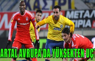Asteras 2-2 Beşiktaş