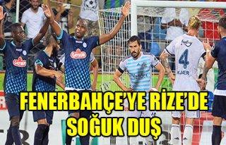 Fenerbahçe Rize'den İstediğini Alamadı