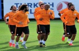 Galatasaray Tam Kadro Çalıştı