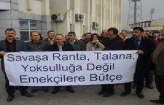 Gaziantep'te Sendikalardan Eylem