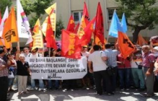 'Gezi Tutukluları' Eylemi