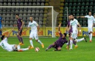 Giresunspor - Osmanlıspor: 1-2