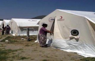 Barınma Sorunu Çadırlarla Çözüldü