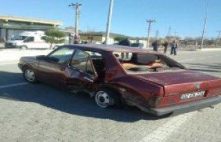 Gölbaşı'nda Otomobiller Çarpıştı