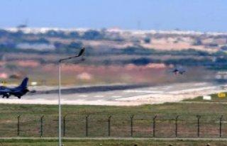 İncirlik'te Türk Savaş Uçaklarının Rutin Uçuşları...