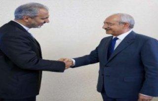 İran Büyükelçisi'nden CHP'ye Ziyaret