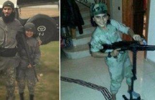 '10 Yaşındaki Çocuk Şehit'