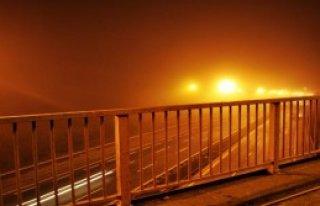 İstanbul'da Gece Sis Etkili Oldu