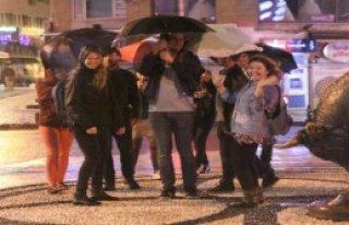 İstanbul'u Fırtına Vurdu
