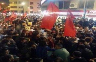 İzmir'de Kobani Eylemi