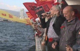İzmir'de 'Üç Fidan' Anıldı
