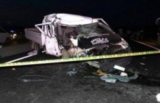 Balıkesir'de Kaza 1 Ölü, 3 Yaralı