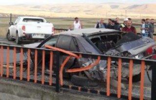 Kars'ta Kaza: 1 Ölü 2 Yaralı