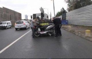 Motosiklet Sürücüsü Kazada Öldü