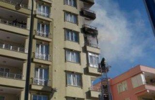 Kilis'te Ev Yangını
