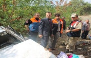 Kilis'te Otomobil Devrildi: 5 Yaralı