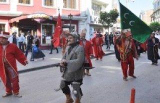 Kırıkkale'de Mehterli Ahilik Yürüyüşü