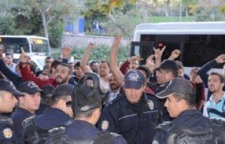 Konya'da Kobani Gerginliği