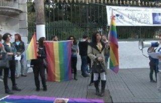 Travesti Cinayeti Protesto Edildi