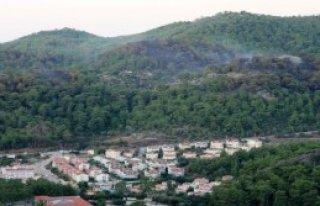 Marmaris'te 44 Hektar Kül Oldu