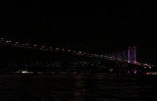 Meme Kanseri İçin Köprüler Pembeye Büründü
