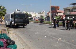 Mersin'de Olaylı IŞİD Protestosu