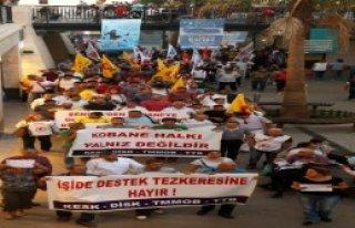 Mersin'de Tezkere Karşıtı Eylem