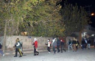 Nusaybin'de Gece PKK Eylemi