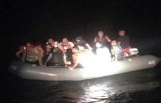 Sahil Güvenlik Kaçak Avında