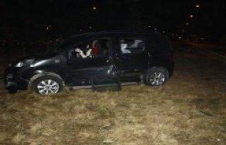 Sandıklı'da Kaza, 1'i Ağır 6 Yaralı