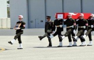 Sarpkaya, Askeri Törenle Uğurlandı
