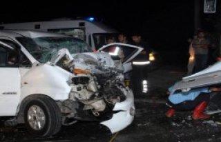 Serik'te Kaza: 1 Ölü, 7 Yaralı