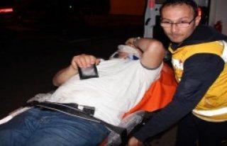 Balkon Çöktü: 3 Yaralı