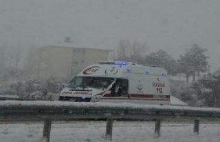 Sinop'ta Kar 140 Köy Yolunu Kapattı