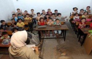 Suriyeli Çocukların Ders Zili Çaldı