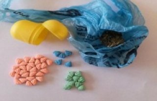 Sürpriz Yumurta İçinde Uyuşturucu