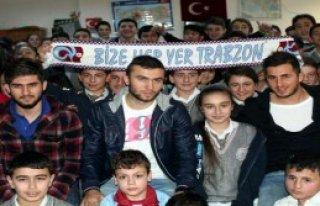 Trabzonsporlu Oyuncu Alex'i Örnek Alıyor
