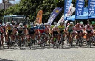 Türkiye Bisiklet Şampiyonası Sürüyor