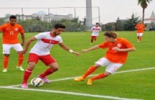 Türkiye-Hollanda: 1-1