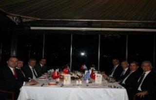 Türkiye Ve Yunanistan'ın Futbol Federasyonu Yetkilileri...