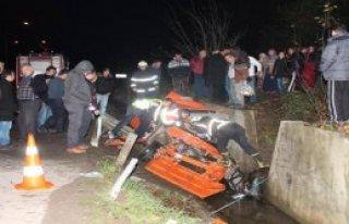 Ünye'de Kaza: 2 Ölü, 1 Yaralı
