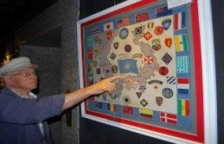 Kanlı Bayrak Kent Müzesinde