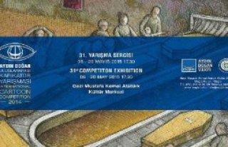 Yarışma Karikatürleri Muğla'da