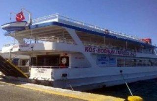 Yunanistan'da El Konulan Türk Feribotu Bırakıldı