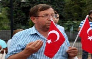 Zonguldak'ta Teröre Tepki Yürüyüşü