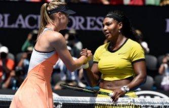 ABD Açık'ta açılış maçı  Maria Sharapova ve Serena Williams arasında